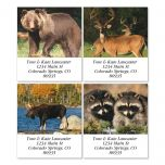 Wildlife II Select Address Labels  (4 Designs)