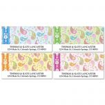 Pretty Posies Deluxe Address Labels  (4 Designs)