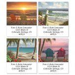 Coastal Dreams Select Address Labels  (4 Designs)