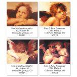 European Angels Select Address Labels  (4 Designs)