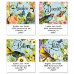 Bird Garden  Select Address Labels  (4 Designs)
