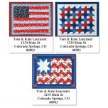 American Quilt Select Address Labels  (3 Designs)