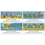 Seas-in-Greetings Deluxe Address Labels  (4 Designs)