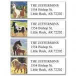 Beauty in the Wild Classic Address Labels  (4 Designs)