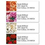Bed of Roses Classic Address Labels  (4 Designs)