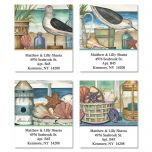 Seaside Memories Select Address Labels  (4 Designs)