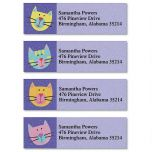Fun Cats Classic Address Labels  (4 Designs)