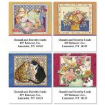 Tea Time Select Address Labels  (4 Designs)