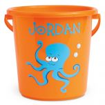 Fun-in-the-Sand Personalized Buckets