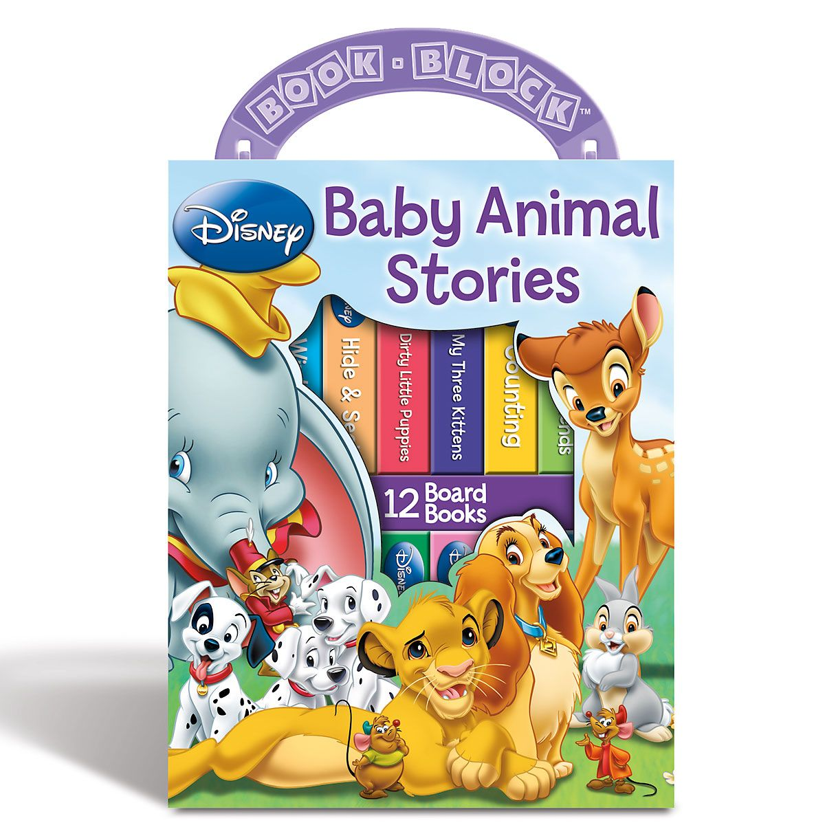 My First Library Baby Animal Books