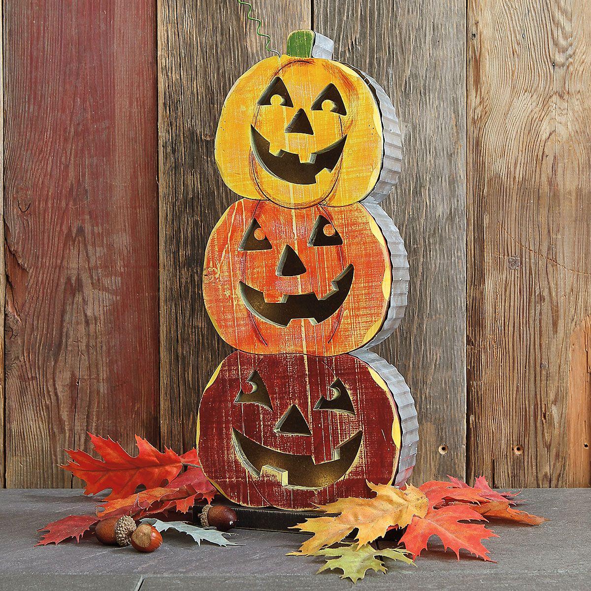 Pumpkin Stacker Decor