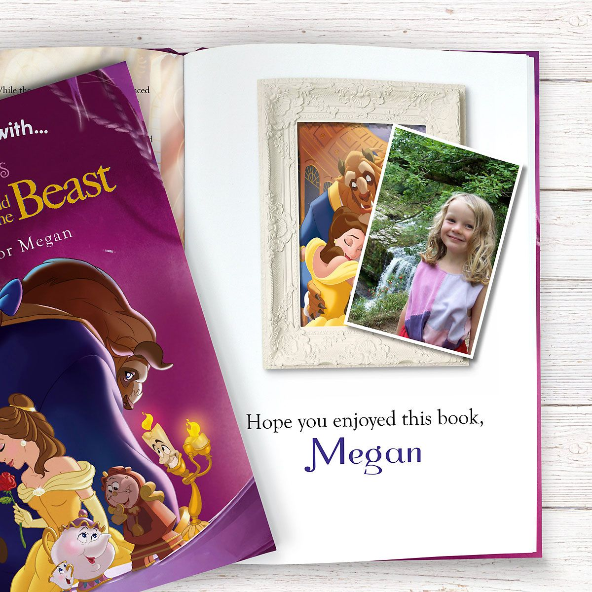 Beauty and the Beast Personalized Storybook