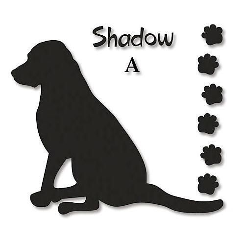 Dog Silhouette Personalized Wall Vinyl