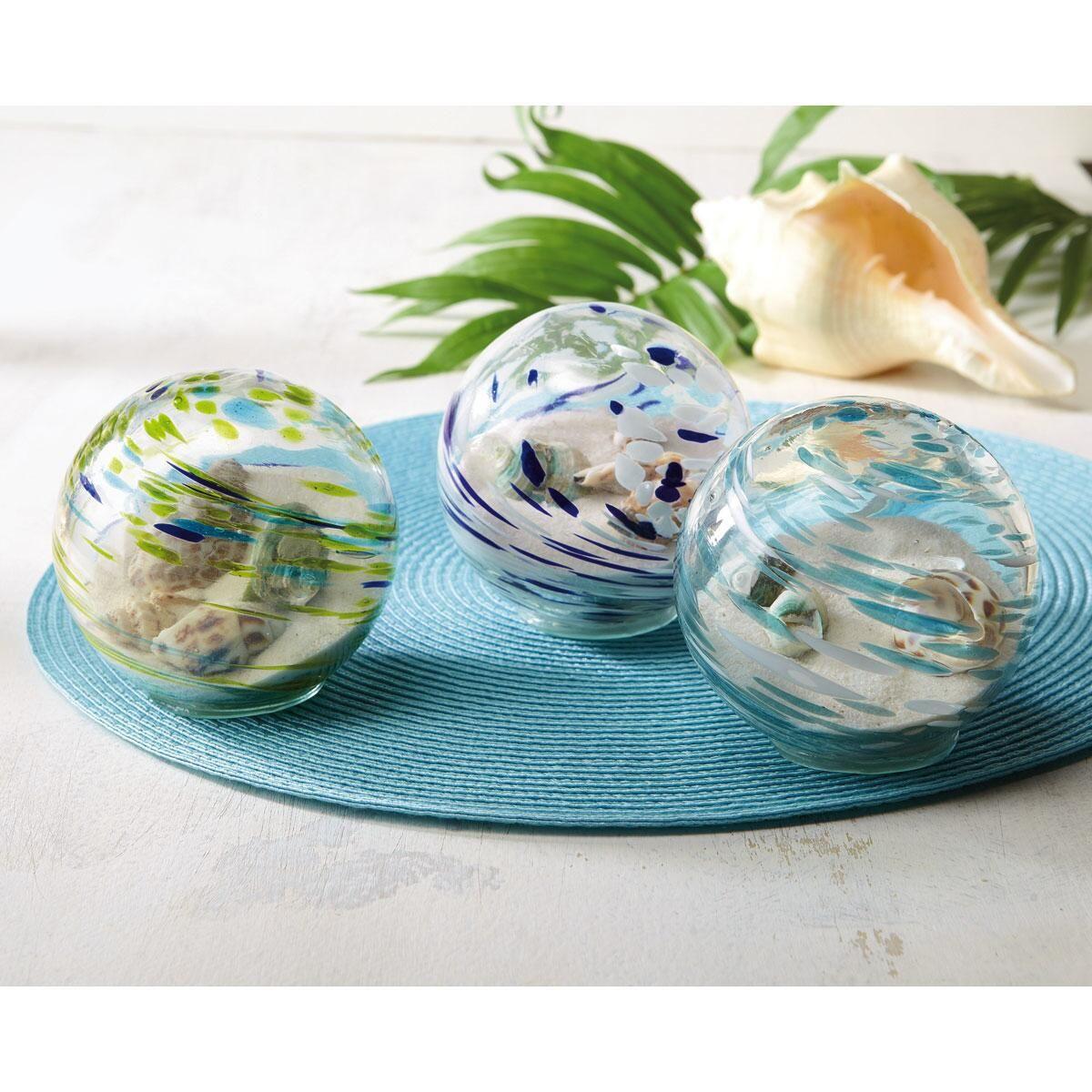 Handblown Glass Orbs