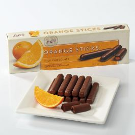 Orange Milk Chocolate Gourmet Sticks
