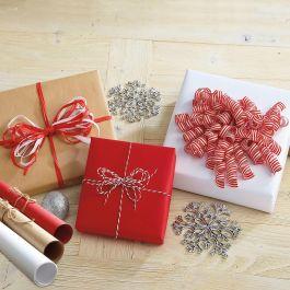 Kraft Gift Wrap Jumbo Rolls - Set of 3