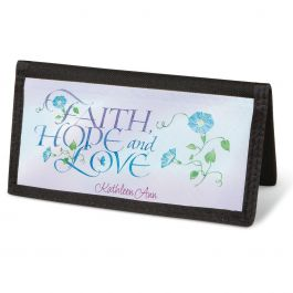 Expressions of Faith®  Checkbook Cover - Personalized