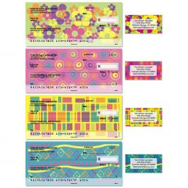Feeling Groovy Single Checks with Matching Address Labels