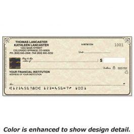 Securiguard Parchment Hologram Premium Duplicate Checks
