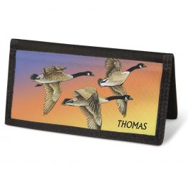 Wildlife  Checkbook Cover - Personalized