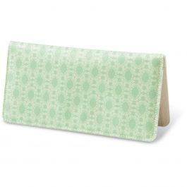 Peace, Love, Joy, Hope  Fabric Checkbook Cover