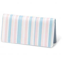 Coastal Stripes    Fabric Checkbook Cover