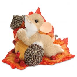 Praying Mouse on Acorn by Charming Tails®