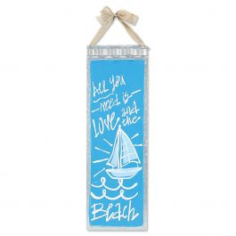 All You Need Tin Nautical Wall Sign