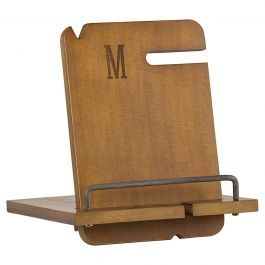 Custom Wooden Docking Station - Single Initial