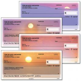 Sunset Splendor Personal Single Checks