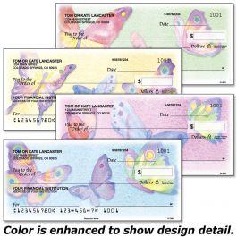 Watercolor Wings Duplicate Checks