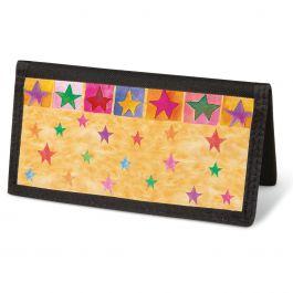 Stars On Parade Checkbook Cover - Non-Personalized