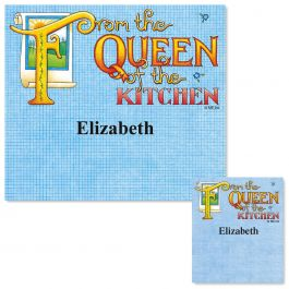 Queen of the Kitchen Canning Labels - Large