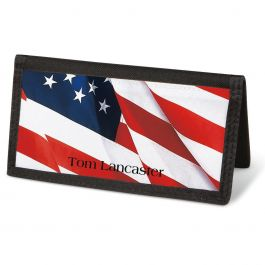 American Glory Checkbook Cover - Personalized