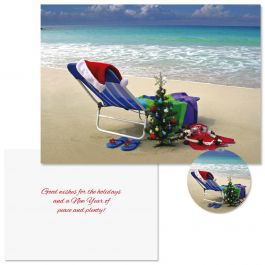 Hawaiian Holiday Christmas Cards -  Nonpersonalized