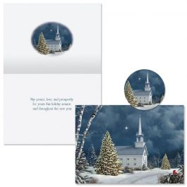 Christmas Church  Christmas Cards  -  Nonpersonalized