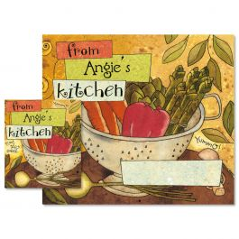 From My Kitchen Canning Labels - Large