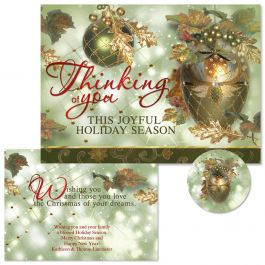 Pineville Estates Christmas Cards - Personalized