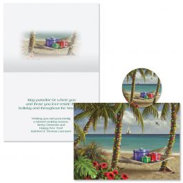 Can You Imagine Christmas Cards -  Personalized
