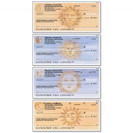 Sun and Moon Personal Single Checks