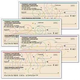 Confetti Personal Single Checks