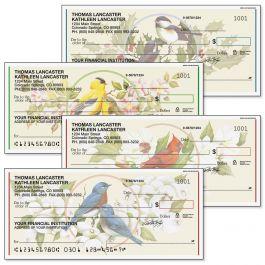 Birds & Blossoms Personal Single Checks