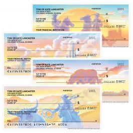 Western Country Single Checks