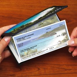 Tropical Paradise II Side-Tear Personal Duplicate Checks