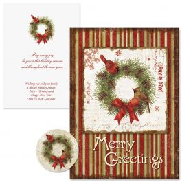 Joyelle Christmas Cards - Nonpersonalized