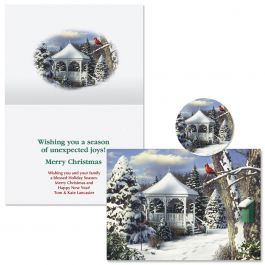 Wings of Hope  Christmas Cards - Personalized