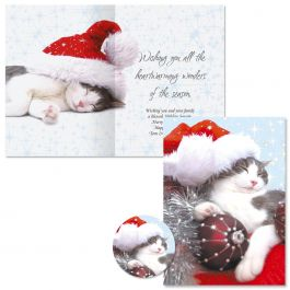 Heartwarming Christmas Cards - Personalized