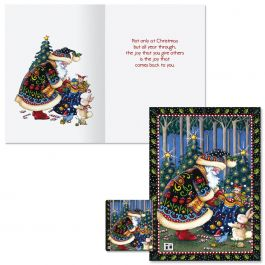 Mary's Woodland Christmas Cards -  Nonpersonalized