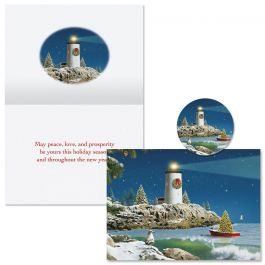Starry Light Christmas Cards -  Nonpersonalized