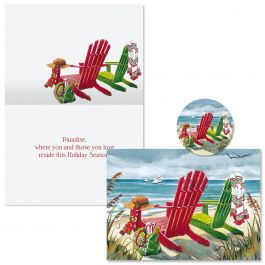 Seashore Christmas Cards -  Nonpersonalized